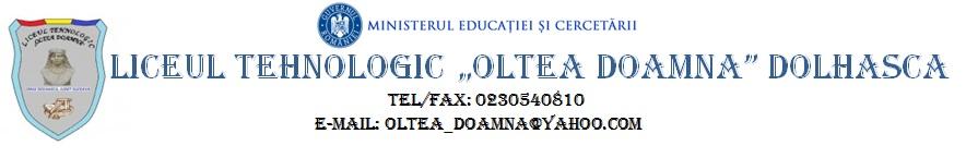 Liceul Tehnologic Oltea Doamna Dolhasca